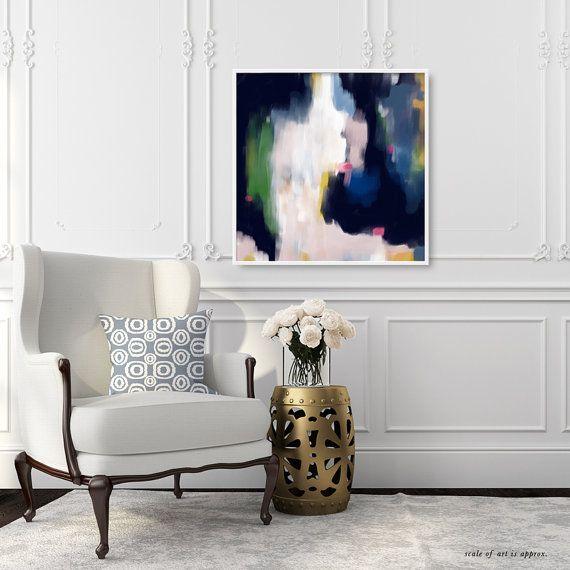 Lori 6x6-36x36in Abstract Fine Art Print by ParimaCreativeStudio
