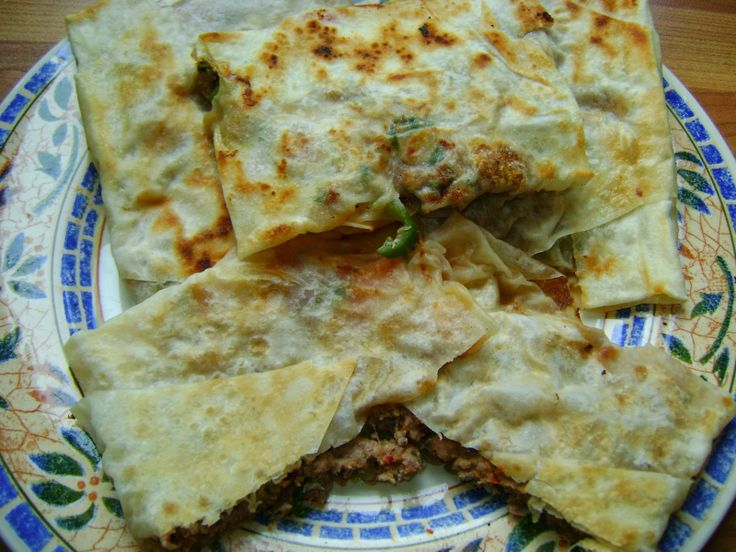 Cozy Green Kitchen: GROUND BEEF PARCEL/ GOZLEME