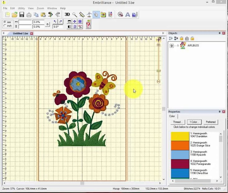 embroidery machine software