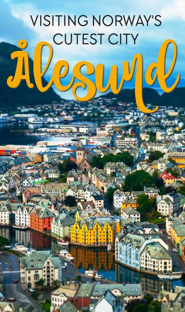 à lesund is widely regarded as Norway's most beautiful city, and it makes for the perfect base from which to explore some of Norway's beautiful sites, including Geirangerfjord and Trollstigen. Read why you should add it to your Norwegian travel itinerary!