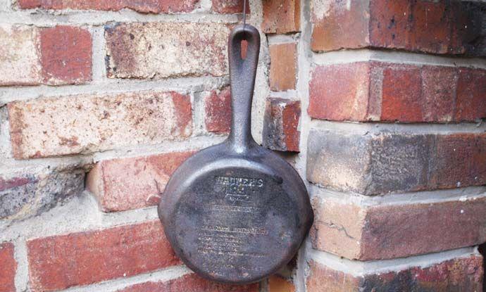 アンティーク鉄製 フライパン
