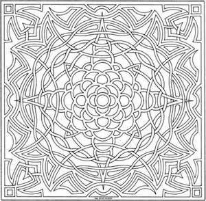 Celtic Mandala Simple Coloring Pages For Adults Mandalas To Color