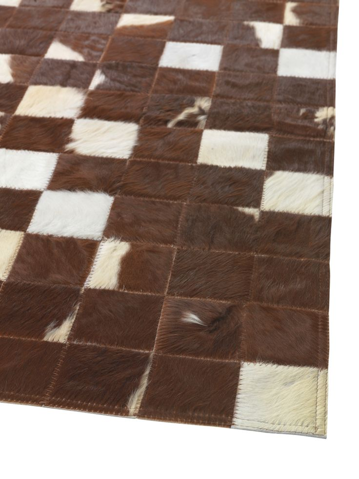 love this ikea patchwork hide rug