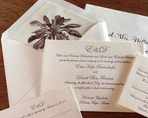 41 best dr wedding images on pinterest invitation ideas wedding diy letterpress wedding invitations modern brides turn to diy in 2011 solutioingenieria Images
