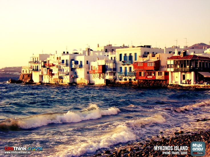Little Venice, Mykonos Wallpaper