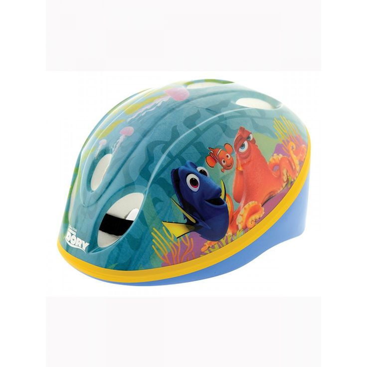 This Disney Finding Dory Safety Helmet has both safety and style in mind with its fantastic graphics featuring Dory, Nemo and Hank. . This helmet is the perfect accompaniment to our great range of Finding Dory scooters and ride ons.