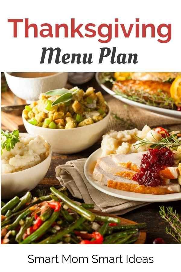 Thanksgiving Menu Thanksgiving Dinner Menu Thanksgiving Menu