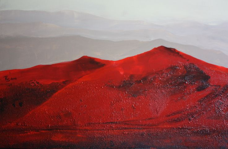 NAMIB3, Mixed Media, 80 x 120 cm, www.roswitha-schablauer.at