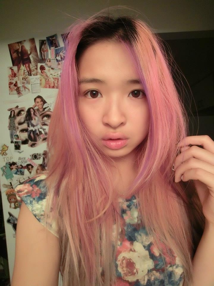 Casio Tryx Selca Asian Pink Hair Pink Hair Asians
