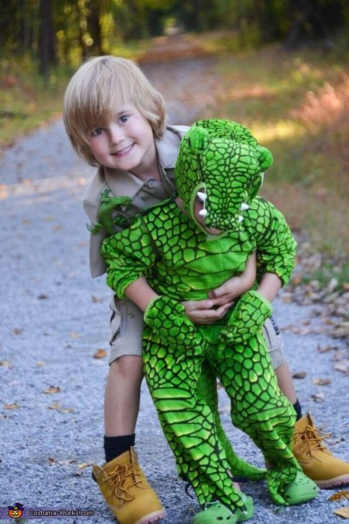 Steve Irwin & his Croc Halloween Costume Idea