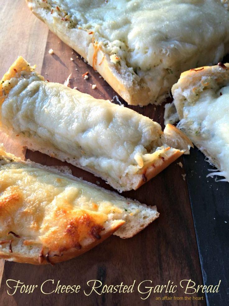 Klebriges, käsiges, geröstetes Knoblauchbrot – es verschwindet direkt vor Ihren Augen!   – Bread {Garlic Bread}
