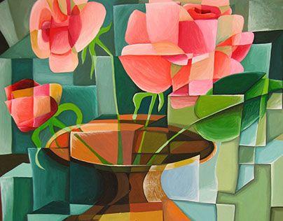 "Check out new work on my @Behance portfolio: ""Кубические розы. Gothic rose."" http://be.net/gallery/41095745/kubicheskie-rozy-Gothic-rose"