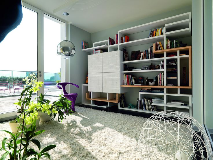 PG 700 BOOKCASES 100% hand made in Italy www.marchettimaison.com