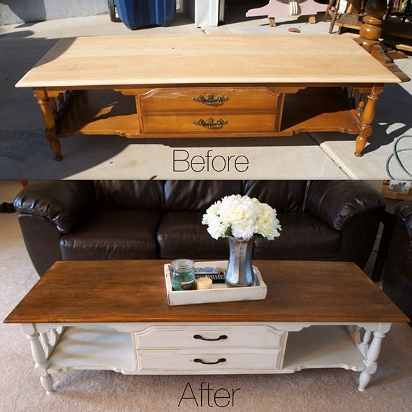 Coffee table redo hmmm something to consider for a yucky Eclectic coffee table makeovers