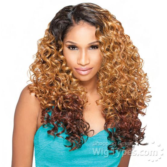 My new hair. .CANT WAIT TO GET IT! Sensationnel Synthetic Hair Empress L Part Lace Front Wig - ALEXIS (futura) [7659]