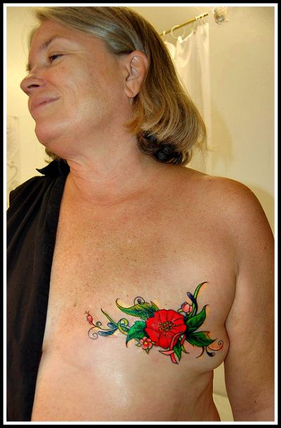 40 best mastectomy tattoos images on pinterest breast for Breast cancer face tattoos walmart