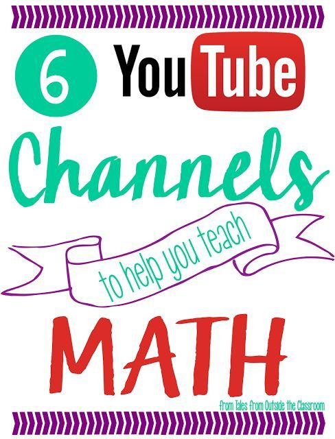 6 YouTube Channels to Help you Teach Math