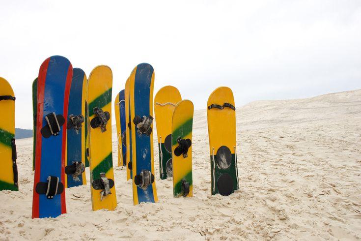 Sanboarding memang tidak bisa dibandingkan dengan olahraga yang menggunakan papan luncur lainnya yang sudah lebih dulu ada dan sudah lebih terkenal, seperti surfing, skateboarding dan snowboarding. Tapi masalah seru dan menantangnya, sandboarding bisa diadu dengan olahraga yang menggunakan papan luncur tersebut. Jika diperhatikan, sandboarding sangat mirip dengan snowboarding karena alat yang digunakan juga cukup serupa. …