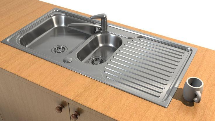 Kitchen Sink Render, Henning Lande on ArtStation at https://www.artstation.com/artwork/kitchen-sink-render