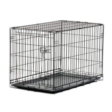 Blue Beagle Pet Home Training Kennel, 36 inch, Black