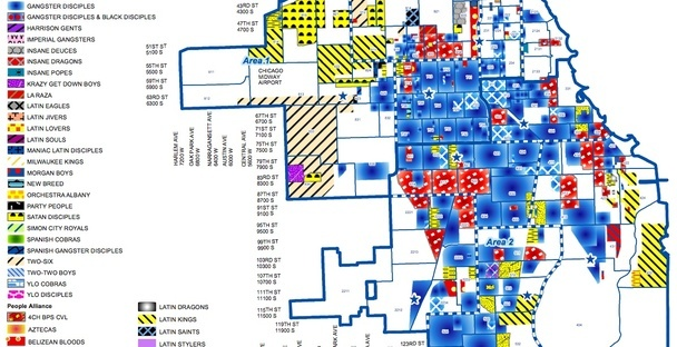 Is It Harmful To Release Gang Maps  Chicago Crime And Maps