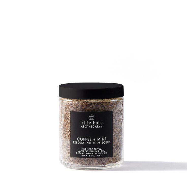 Coffee + Mint Exfoliating Body Scrub