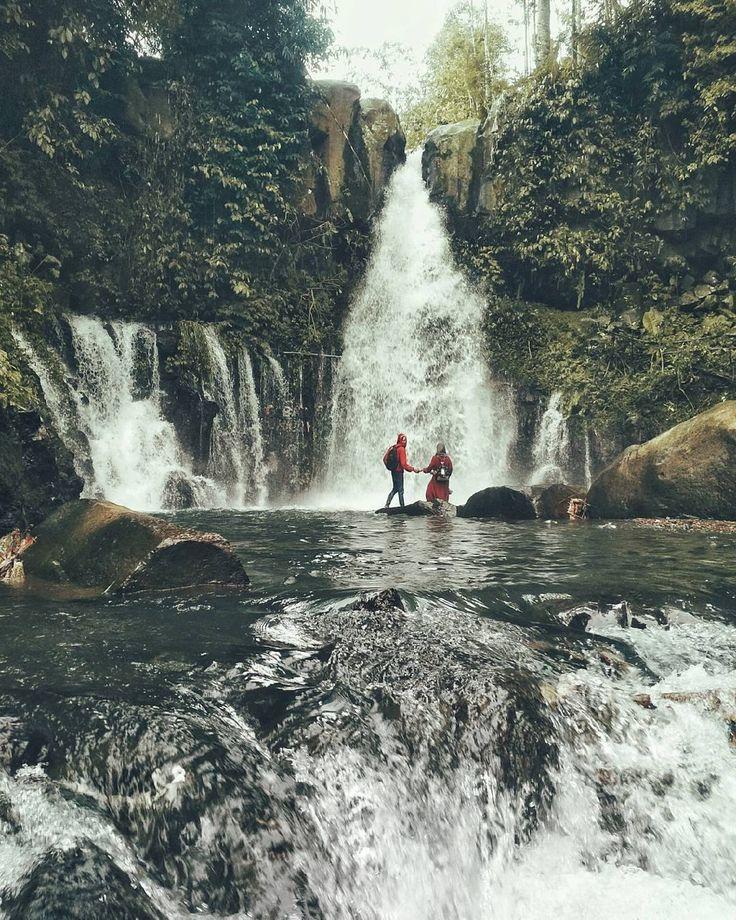 Coban Ciblungan Waterfall, a peaceful place in #Malang, East Java, #Indonesia  Photo by: IG @rifkydoglekk