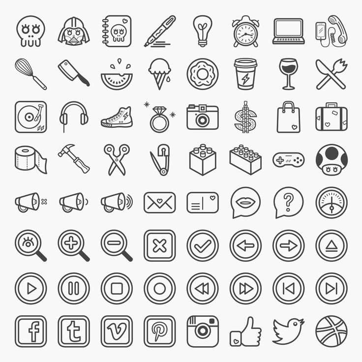 Coucou is a set of 64 fun and quirky icons.