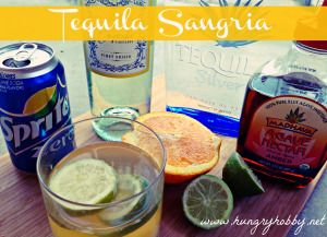 Tequila Sangria - oh ya it's delicious!