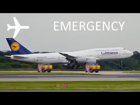 Video: Notlandung Lufthansa Boeing 747-8 #LH404 in Manchester | traveLink.