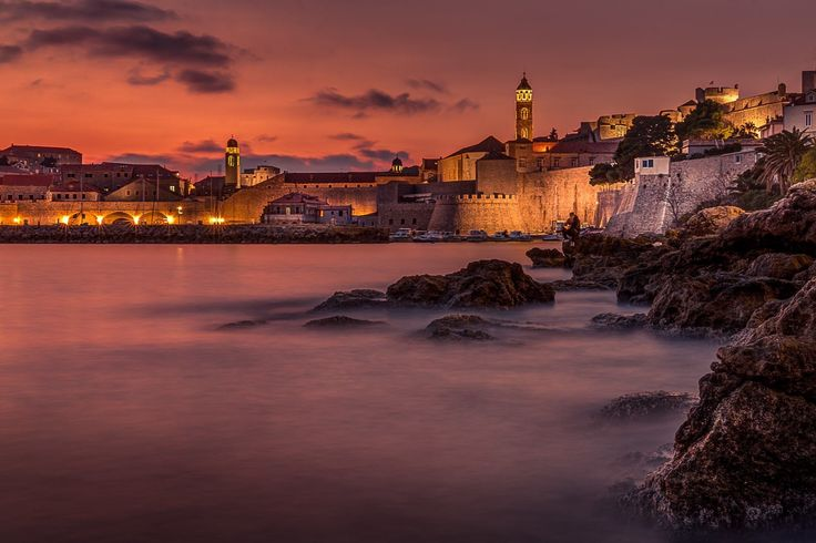 __Got this shot this evening in Dubrovnik...__ -