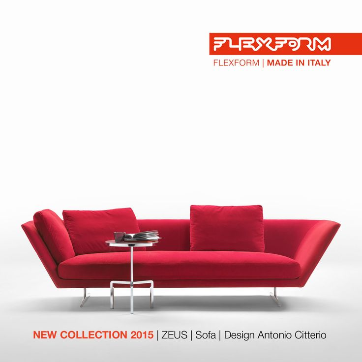 FLEXFORM NEW ZEUS #SOFA, designed by Antonio Citterio. Find out more on www.flexform.it