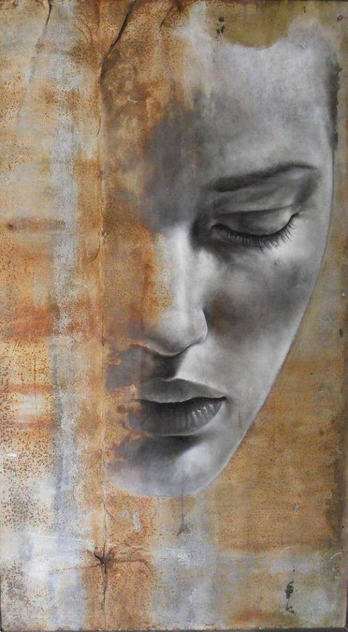 Max Gasparini,oil on metal