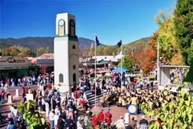 The Bright Autumn Festival is a ten day celebration of the wonderful autumn colours and autumn produce of the valleys of Victoria's Alpine High Country.