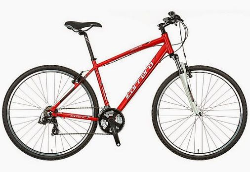 """CYCLING Carrera Crossfire Limited Edition Hybrid Bike 2014 WAS £499.99 NOW JUST £180 at Halfords (frames 19"""" and 21"""" only)  #flashbargains   #flashbargain   #gratisfactionuk   #gratcycling"""