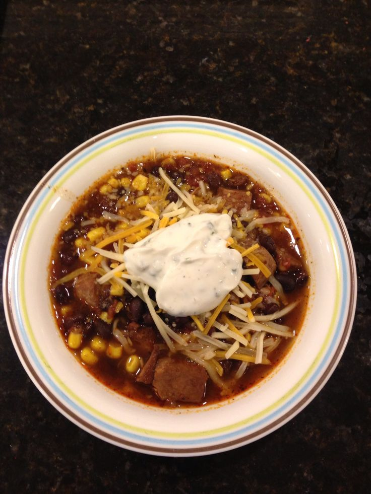 Pork Stew with Black Beans and Corn - 21-Day Fix: 2 Green ...