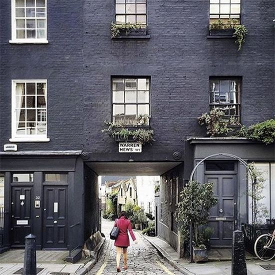 Take five and enjoy a nosey around the most charming and beautiful mews in London - yes, this is ultimate property porn, courtesy of Instagram account @mewsingsldn.