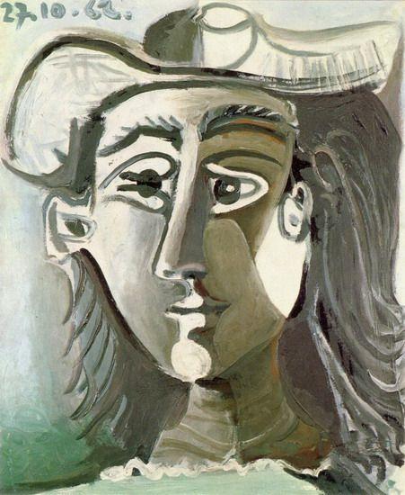 Jacqueline Roque (1927-1986) was de tweede vrouw van Pablo Picasso en zijn frequente model. Picasso bracht de laatste 20 jaar van zijn leven met haar door. In die tijd creëerde hij meer dan 400 portretten van haar. Ze hadden geen kinderen. Het leeftijdsverschil tussen Roque en Picasso bedroeg 46 jaar. Nadat Picasso was gescheiden van Françoise, begonnen ze hun relatie. Ze trouwden in 1961. Jacqueline doodde zichzelf met een geweer, dertien jaar na de dood van Picasso.-1962
