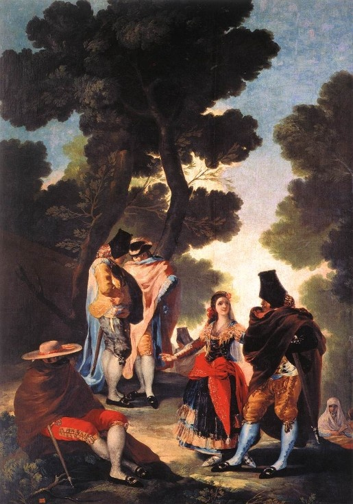 Francisco De Goya y Lucientes -A Walk in Andalusia