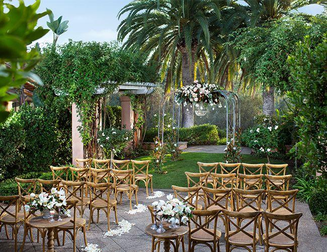 Getaway Spot: Rancho Valencia - wedding altar