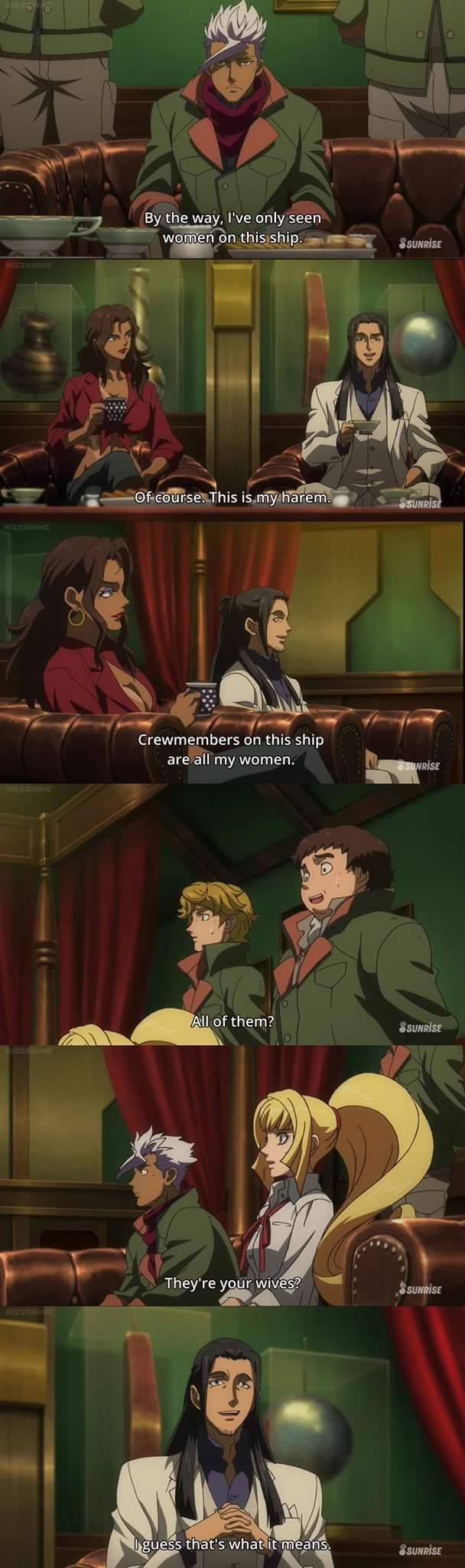 The Harem King | Gundam: Iron Blooded Orphans
