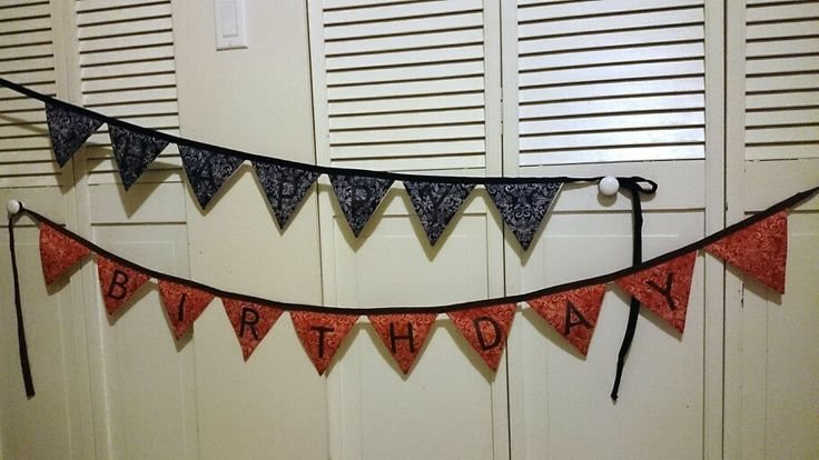 New monogrammed bunting banners! (+$5 per banner) best results on light fabric http://www.facebook.com/littledragonbabyboutique
