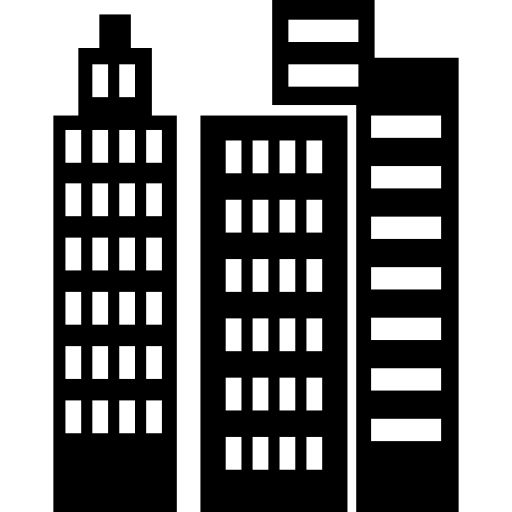 Buildings and skyscrapers I Free Icon