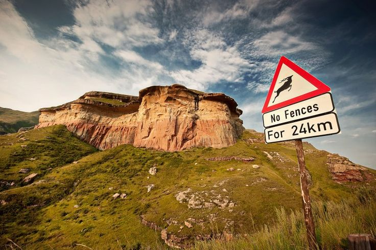 Autumn Road Trips - Clarens Route, Free State, South Africa