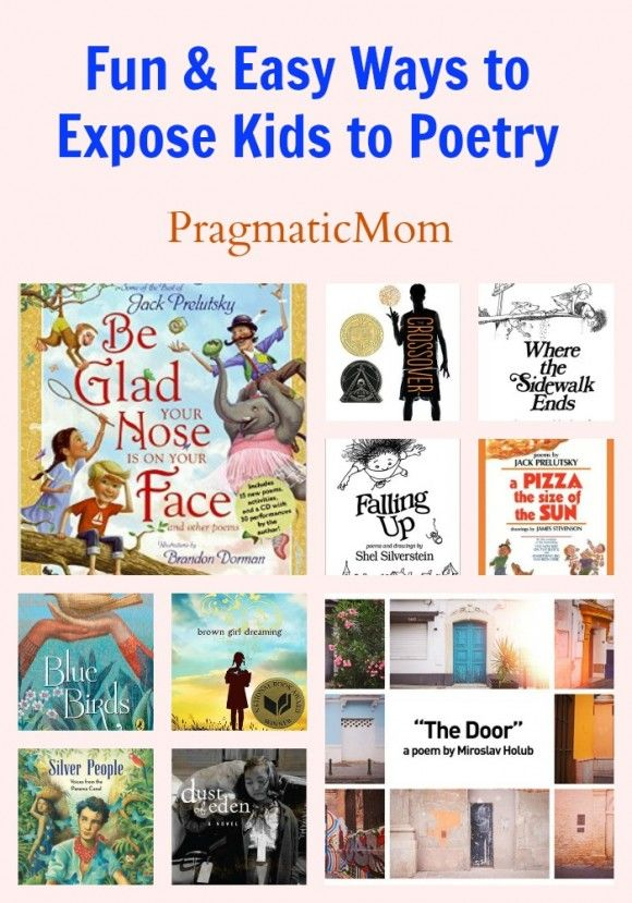 Fun & Easy Ways to Expose Kids to Poetry including this lovely video :: PragmaticMom #poetry #poetryforkids #NationalPoetryMonth