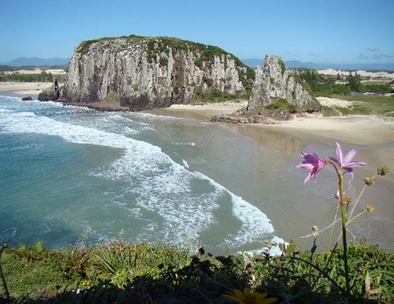Praia da Guarita - Torres, Rio Grande do Sul, south of Brazil.