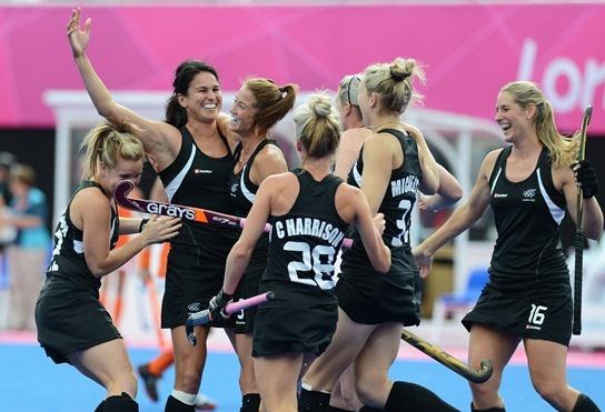 The Black Sticks Women at the London Olympics 2012