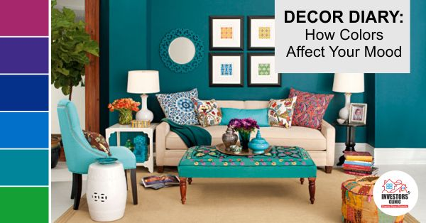 Colors not only add vibrancy to your #HomeDecor, they also affect your mood. Here is what every color signifies- http://www.investors-clinic.com/blog/decor-diary-how-colors-affect-your-mood/