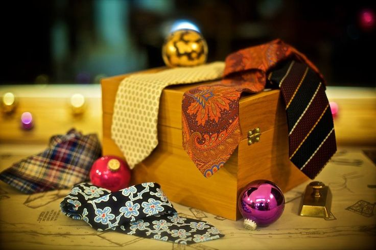 """On the Fifth day of Christmas my true love sent to me Five Dapper Drakes...""  Even the finest suit needs a perfect tie to complete it. And what man wouldn't want to refresh his look with five beautiful ties from Drake's of London ?"