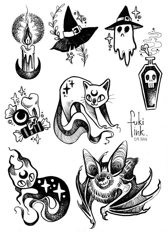 Image result for goth tattoos